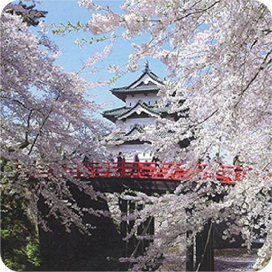 弘前公園(弘前城)の写真