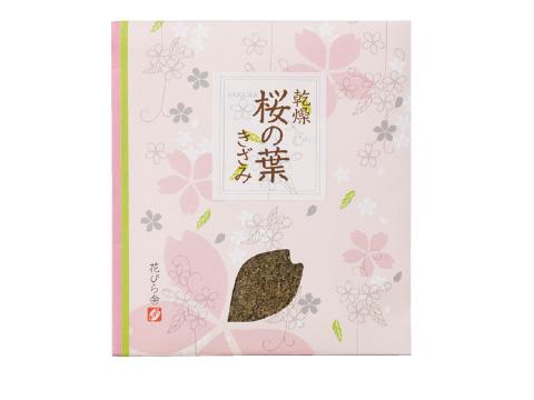 乾燥桜の葉きざみ