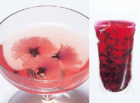 桜花蜜漬 シロップ入